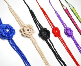 Flower headbands in many colors!