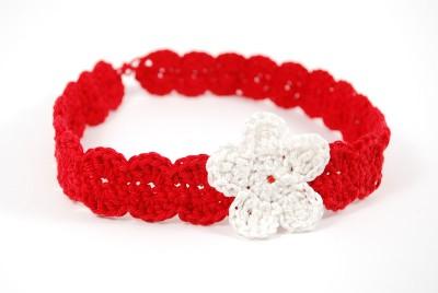 Baby Flower Headband Pattern – Red Sewing Box