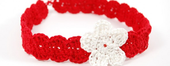 Baby Flower Headband Pattern