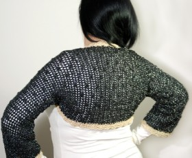 Pop Bolero Crochet Kit