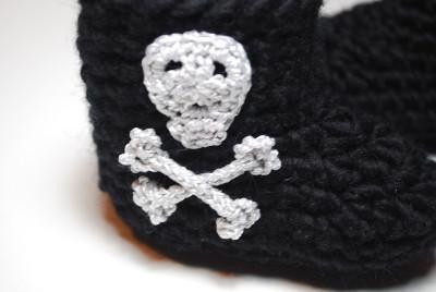skull baby boot_2305