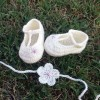 Luisa Dancing Baby Booties