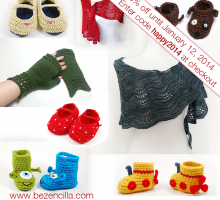 30% off Knit Crochet Patterns
