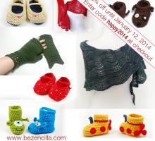 30% off Knit Crochet Patterns